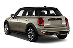 Car pictures of rear three quarter view of a 2018 Mini MINI Cooper S Chilli 5 Door Hatchback angular rear