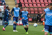Scott Kashket of Wycombe Wanderers warms up ahead of the Sky Bet League 2 match between Leyton Orient and Wycombe Wanderers at the Matchroom Stadium, London, England on 1 April 2017. Photo by Andy Rowland.