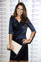 Gemma Oaten arriving at James' Jog On To Cancer Event, Kensington Roof Gardens, London. 09/04/2014 Picture by: Alexandra Glen / Featureflash