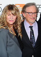 NEW YORK, NY - October 5 : Kate Capshaw, Steven Spielberg at the 55th New York Film Festival screening of 'Spielberg' at Alice Tully Hall on October 5, 2017 in New York City. Credit: John Palmer / MediaPunch<br /> CAP/MPI/JP<br /> &copy;JP/MPI/Capital Pictures