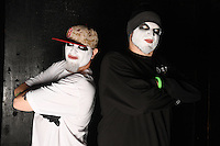 FORT LAUDERDALE, FL - FEBRUARY 19: Twiztid pose during a photo session at The Culture Room on February 19, 2017 in Fort Lauderdale, Florida. Credit: mpi04/MediaPunch