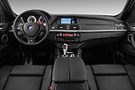 Straight dashboard view of a 2013 Bmw X6 M 5 Door Suv 4WD