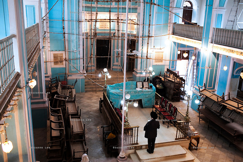 The Magen David Synagogue in  Mumbai, India is one of the few synagogues that are still in use. Although a trust has been set up to maintain the Baghdadi Jewish synagogues, preservation is a difficult process as the board members are often at odds with one another on complications of how the finances are handled.