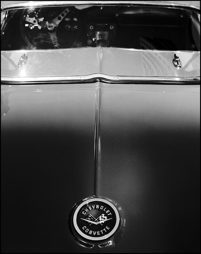 Corvette<br /> From &quot;Miami in Black and White&quot; series. Miami, FL, 2007