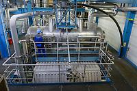 DEUTSCHLAND, Hamburg Wasser, Klärwerk Köhlbrandhöft, VERA, Anlage zur Klärschlammverbrennung