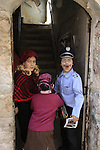 Israel, Jerusalem, Purim in Mea Shearim neighborhood