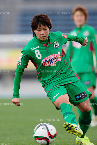 Yumi Uetsuji (Beleza), <br /> OCTOBER 31, 2015 - Football / Soccer : <br /> Plenus Nadeshiko League 2015 <br /> between NTV Beleza 2-0 Jef Chiba Ladies <br /> at Komazawa Olympic Park Stadium, Tokyo, Japan. <br /> (Photo by AFLO SPORT)