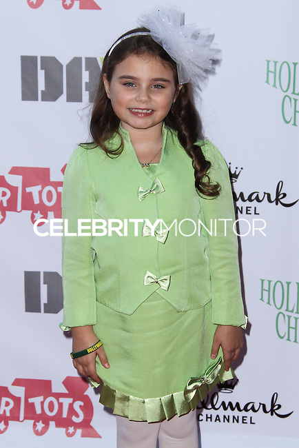 HOLLYWOOD, CA - DECEMBER 01: Bailey Michelle Brown arriving at the 82nd Annual Hollywood Christmas Parade held at Hollywood Boulevard on December 1, 2013 in Hollywood, California. (Photo by Xavier Collin/Celebrity Monitor)