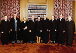Supreme Court of United States of America federal judiciary with Chief Justice and Associate Justices nominated by the President and confirmed by Senate,  Justices have life tenure, The Supreme Court is the high court or by the acronym SCOTUS,
