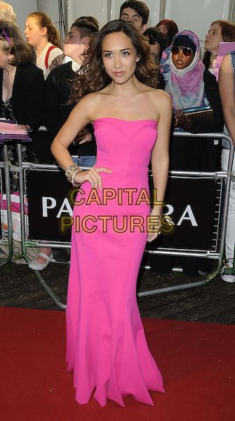 Myleene Klass<br /> The Glamour Women Of The Year Awards 2013, Berkeley Square Gardens, London, England.<br /> June 4th, 2013<br /> full length pink strapless dress hand on hip<br /> CAP/CAN<br /> &copy;Can Nguyen/Capital Pictures