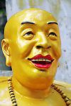 Buddha statue at the Monastery of Ten Thousand Buddhas (Man Fat Tsz) in Shatin, Hong Kong.