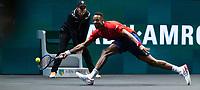 Rotterdam, The Netherlands, 15 Februari 2020, ABNAMRO World Tennis Tournament, Ahoy,<br /> Mens Single Final: Gaël Monfils (FRA).<br /> Photo: www.tennisimages.com