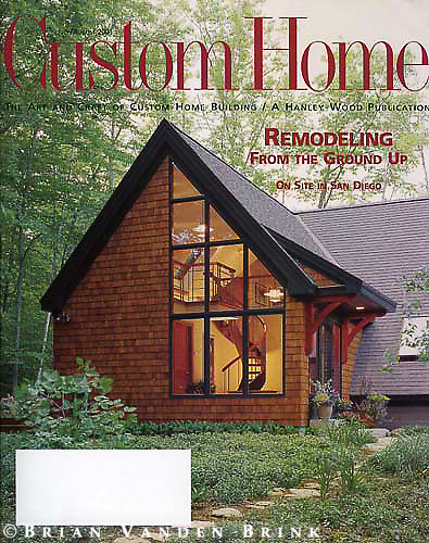 Custom Home.July/August 2001