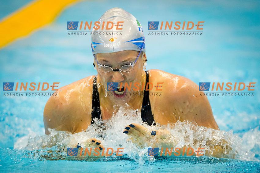 Szczecin, Poland, 9 december 2011.European Short Course Swimming Champioships 2011.100m individual Medley.Laura Letrari (ITA)...Photo: Insidefoto / Guido Cantini