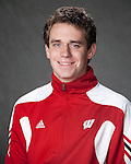 2010-11 UW Swimming and Diving Team - Brandon O'Donnell. (Photo by David Stluka)