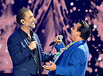 CORAL GABLES, FL - APRIL 28: Alejandro Fernandez and Juan Gabriel performs onstage at the Billboard Latin Music Awards at the BanKUnited Center on Thursday April 28, 2016 in Coral Gables, Florida. ( Photo by Johnny Louis / jlnphotography.com )