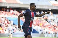 21st July 2020, Parc de Princes, Paris, France; Friendly club football, PSG versus Celtic;   Kylian MBAPPE of PSG celebrates his goal