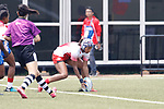 Fumiko Otake (JPN), <br /> AUGUST 30, 2018 - Rugby : <br /> Women's Group A match <br /> between Japan 65-0 Idonesia <br /> at Gelora Bung Karno Rugby Field <br /> during the 2018 Jakarta Palembang Asian Games <br /> in Jakartan, Idonesia. <br /> (Photo by Naoki Morita/AFLO SPORT)