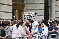 Nova York (EUA), 10/07/2019 -  Seleção feminina de futebol dos Estados Unidos atual campeão da Copa do Mundo de Futebol Feminino 2019 é recebida pelos torcedores na cidade de Nova York nesta quarta-feira, 10. (Foto: William Volcov/Brazil Photo Press)