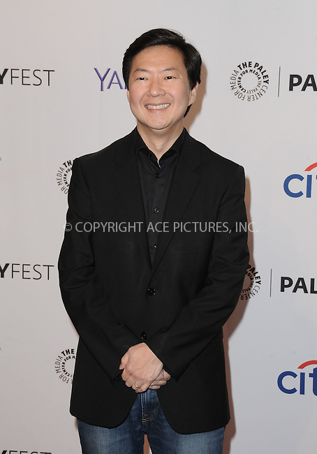 WWW.ACEPIXS.COM<br /> <br /> September 12 2015, LA<br /> <br /> Ken Jeong attending the ABC Fall preview of 'Dr. Ken' at The Paley Center for Media in Beverly Hills, Ca.<br /> <br /> <br /> By Line: Peter West/ACE Pictures<br /> <br /> <br /> ACE Pictures, Inc.<br /> tel: 646 769 0430<br /> Email: info@acepixs.com<br /> www.acepixs.com