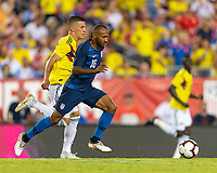 Tampa, FL - Thursday, October 11, 2018: Julian Green during a USMNT match against Colombia.  Colombia defeated the USMNT 4-2.