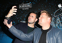 WEST HOLLYWOOD, CA - AUGUST 7: James Corden, Ben Winston, at the Carpool Karaoke: The Series on Apple Music Launch Party at Chateau Marmont in West Hollywood, California on August 7, 2017. <br /> CAP/MPI/FS<br /> &copy;FS/MPI/Capital Pictures