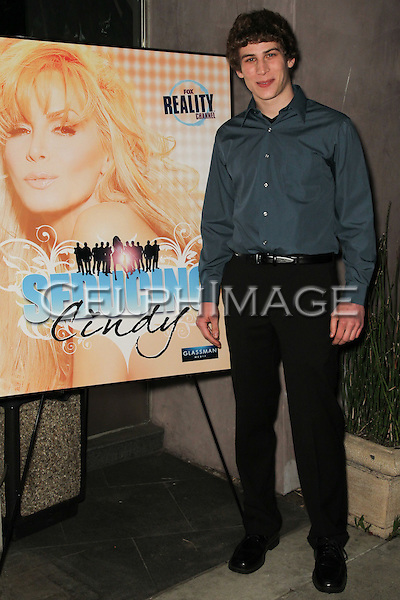 "ALEX WEINBERG. Cast and friends of the hit Fox Reality series,  ""Seducing Cindy,"" arrive to the finale party at Guy's North. Studio City, CA, USA. March 18, 2010."