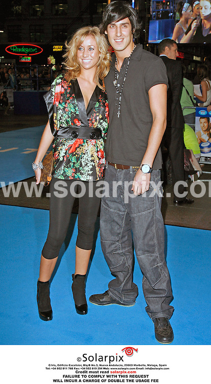 ALL ROUND PICTURES BY SOLARPIX.COM. .Grace and Mikey from Big Brother arrives for the premiere of Click at the Empire in Leicester Square, London on 27.09.06. JOB REF:2848 - PRS..MUST CREDIT SOLARPIX.COM OR DOUBLE FEE WILL BE CHARGED.....