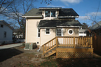 1993 February ..Conservation.Cottage Line...AFTER REHAB.9520 CHESAPEAKE STREET.EXTERIOR REAR...NEG#.NRHA#..