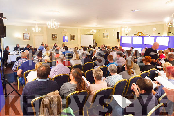 There was a great attendance at the oral hearing for the Listowel Bypass in the Listowel Arms Hotel on Tuesday.