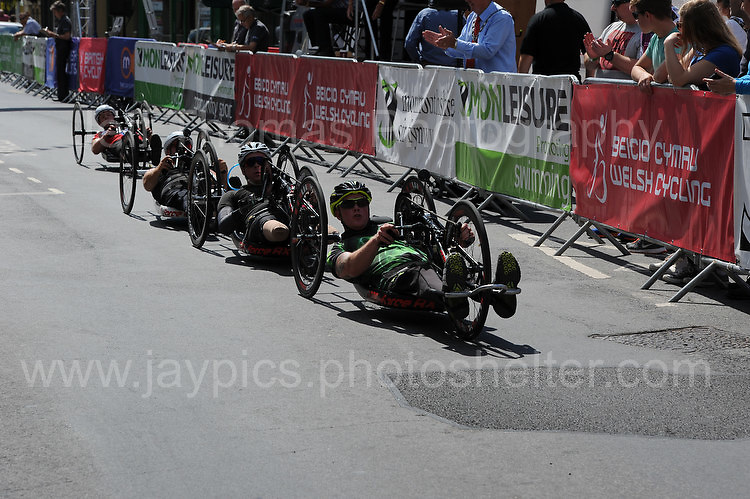 """Competitors during the Abergavenny Festival of Cycling """"Para Grand Prix of Wales"""" race on Sunday 17th 2016<br /> <br /> <br /> Jeff Thomas Photography -  www.jaypics.photoshelter.com - <br /> e-mail swansea1001@hotmail.co.uk -<br /> Mob: 07837 386244 -"""