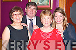 CELEBRATE: Mary, Margaret, Angela and Batt O'Connor, from Listowel celebrated the new year in Kirby's Lanterns Hotel, Tarbert.   Copyright Kerry's Eye 2008
