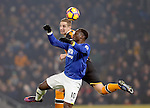 Romelu Lukaku of Everton tussles with Michael Dawson of Hull City during the English Premier League match at the KCOM Stadium, Kingston Upon Hull. Picture date: December 30th, 2016. Pic Simon Bellis/Sportimage