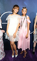 LOS ANGELES, CA - JUNE 4: Zendaya, Storm Reid, at the Los Angeles Premiere of HBO's Euphoria at the Cinerama Dome in Los Angeles, California on June 4, 2019. <br /> CAP/MPIFS<br /> ©MPIFS/Capital Pictures