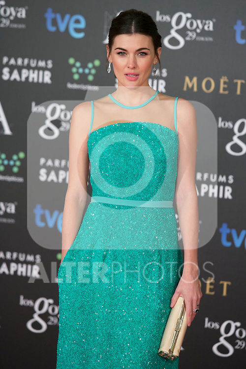 Marta Nieto attend the 2015 Goya Awards at Auditorium Hotel, Madrid,  Spain. February 07, 2015.(ALTERPHOTOS/)Carlos Dafonte)