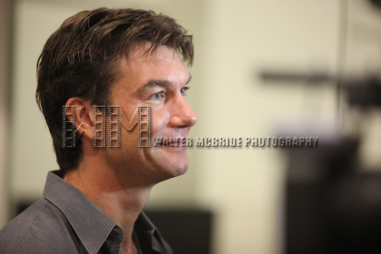 Jerry O'Connell.attending the New Broadway Production 'Seminar' Meet & Greet at the Foxwoods Rehearsal Studioa in New York City.