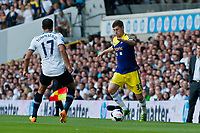 Sun 25 August 2013<br /> <br /> Pictured: Ben Davies of Swansea takes on Andros Townsend of Tottenham Hotspur<br /> <br /> Re: Barclays Premier League Tottenham Hotspur FC  v Swansea City FC  at White Heart Lane, Tottenham, London