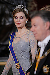 20150303 Spanish Royals host a dinner for the Colombian President
