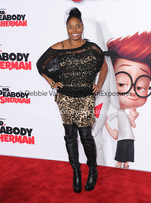Shar Jackson attends The Twentieth Century Fox and Dreamwork Animation Holly-Woof Premiere of Mr. Peabody & Sherman Premiere held at The Regency Village Westwood in Westwood, California on March 05,2014                                                                               © 2014 Hollywood Press Agency