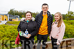 Nicole Clancy (Tralee), Jamie Hickey (Rathmore) and Shannon Hegarty (Tralee) at the IT Tralee's Open Day on Friday Morning.