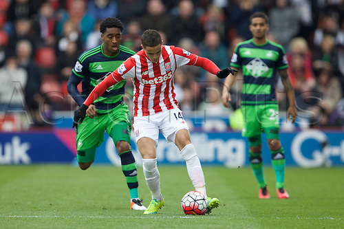 02.04.2016. Britannia Stadium, Stoke, England. Barclays Premier League. Stoke City versus Swansea City.  Stoke City midfielder Ibrahim Afellay.
