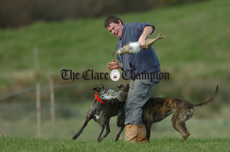 Coursing in December Cooraclare