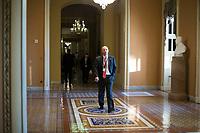 White House Legislative Director Marc Short walks near the Senate Chamber in the US Capitol in Washington, D.C. on Friday, December 1, 2017. <br /> Credit: Alex Edelman / CNP /MediaPunch