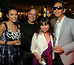 From left: Duyen Huynh, Henry Merceron, Chloe Dao and Marc Nguyen at the Simon Fashion Now event at the Houston Galleria Thursday April 14,2011.(Dave Rossman/For the Chronicle)