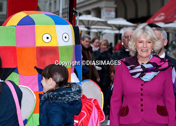 "CAMILLA, Duchess of Cornwall.The Duchess of Cornwall met school children for a storytelling session at Clarence House and afterwards traveled to the London Transport Museum on an iconic Red London Routmaster Bus to mark the 15th anniversary of the National Young Readers' Programme_17/11/2010.Mandatory Photo Credit: ©Dias/DIASIMAGES..**ALL FEES PAYABLE TO: ""NEWSPIX INTERNATIONAL""**..PHOTO CREDIT MANDATORY!!: DIASIMAGES(Failure to credit will incur a surcharge of 100% of reproduction fees)..IMMEDIATE CONFIRMATION OF USAGE REQUIRED:.DiasImages, 31a Chinnery Hill, Bishop's Stortford, ENGLAND CM23 3PS.Tel:+441279 324672  ; Fax: +441279656877.Mobile:  0777568 1153.e-mail: info@diasimages.com"