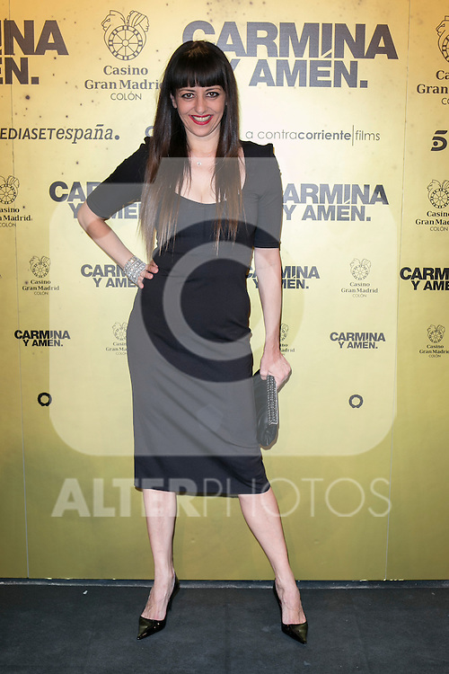 "Spanish actress Yolanda Ramos attend the Premiere of the movie ""Carmina y Amen"" at the Callao Cinema in Madrid, Spain. April 28, 2014. (ALTERPHOTOS/Carlos Dafonte)"