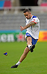 ENG - Newcastle upon Tyne, England, October 08: During the Captains Run of Samoa on October 8, 2015 at St. James Park in Newcastle upon Tyne, England. (Photo by Dirk Markgraf / www.265-images.com) *** Local caption *** Mike Stanley