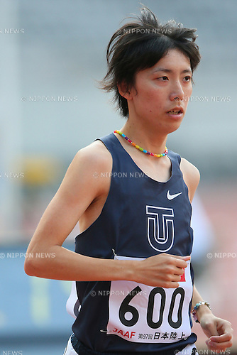 Keita Shitara, <br /> JUNE 8, 2013 - Athletics : <br /> The 97th Japan Track &amp; Field National Championships <br /> Men's 10000m Final <br /> at Ajinomoto Stadium, Tokyo, Japan. <br /> (Photo by YUTAKA/AFLO SPORT)
