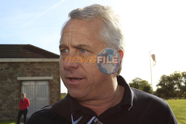 3 times Tour de France winner Greg Lemond (USA) at the HADD Charity Cycle starting from the Knightsbrook Hotel, Trim, Co.Meath 7th October 2012 (Photo by Eoin Clarke/NEWSFILE)