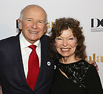 Terrance McNally and Gretchen Cryer attends 2017 Dramatists Guild Foundation Gala reception at Gotham Hall on November 6, 2017 in New York City.